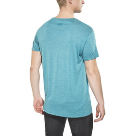 Klättermusen Eir T-Shirt men Short Sleeve Lake Blue